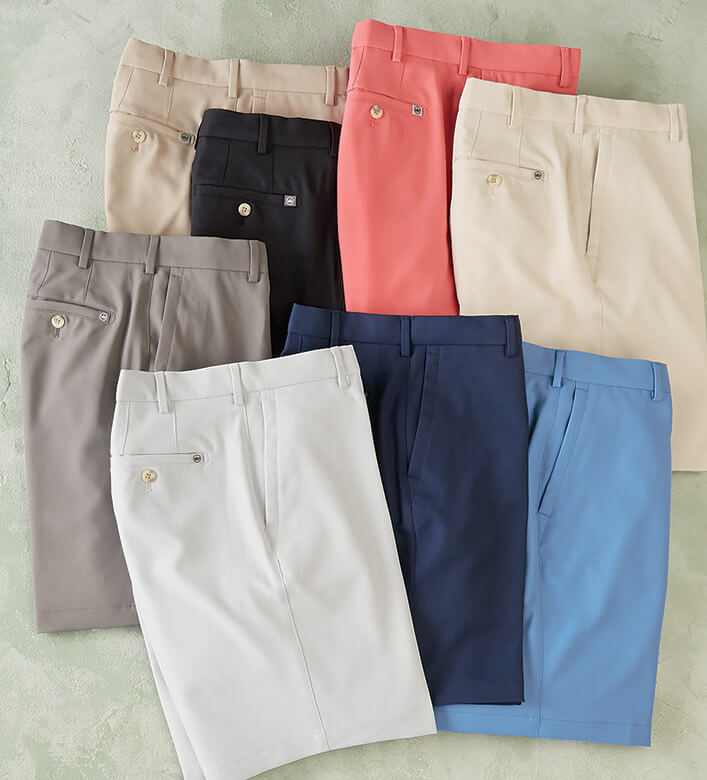 Peter Millar Performance Twill Shorts