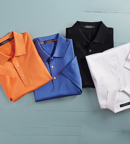 Carnoustie Cotton Lisle Polo