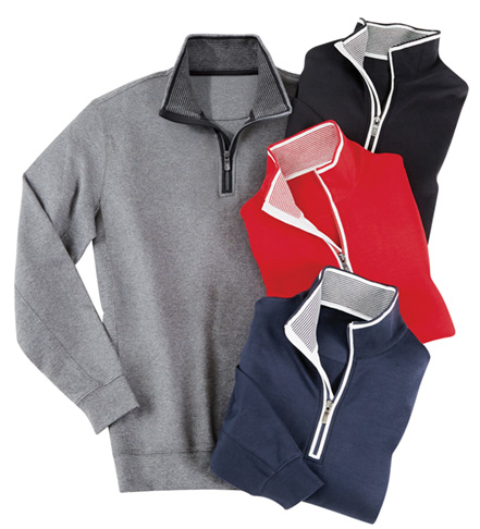 Bobby Jones Leaderboard Quarter-Zip Pullover