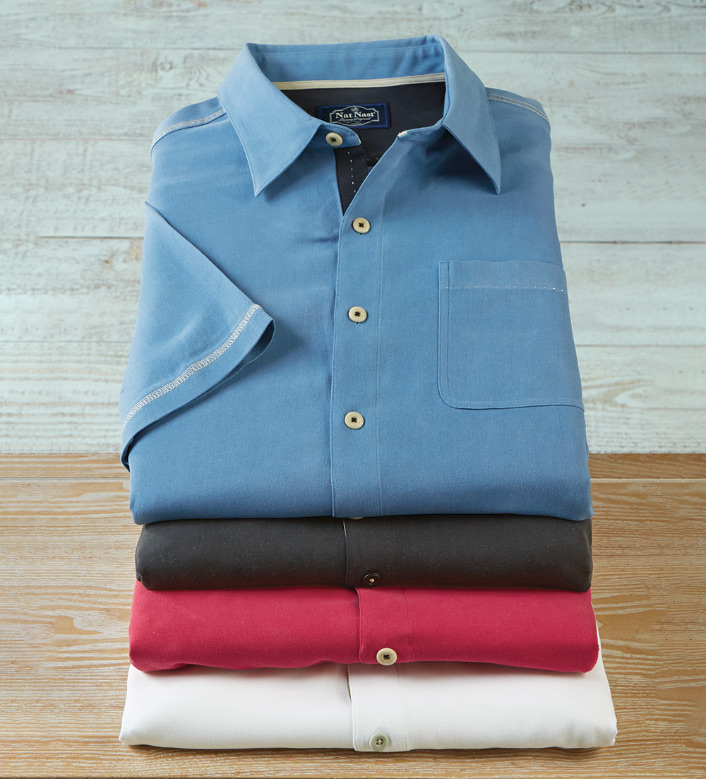 Nat Nast New Originals Short Sleeve Silk Shirt