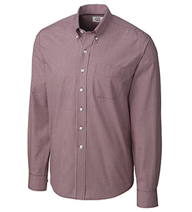 Long Sleeve Epic Easy Care Gingham Sport Shirt