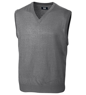 Douglas Washable Merino Blend V-Neck Sweater Vest