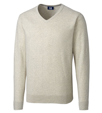 Lakemont Cotton Blend V-neck Sweater