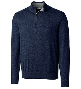 Lakemont Cotton Blend Half-Zip Sweater