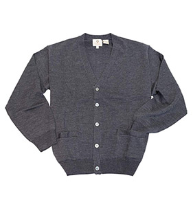 Merino Button Front Cardigan Sweater