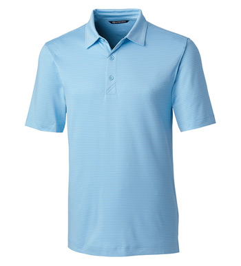 Forge Pencil Stripe Short Sleeve Polo Shirt