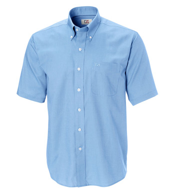 Epic Nailshead Easy Care Short Sleeve Sport Shirt