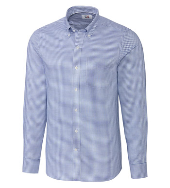Tailored Fit Epic Tattersal Long Sleeve Sport Shirt