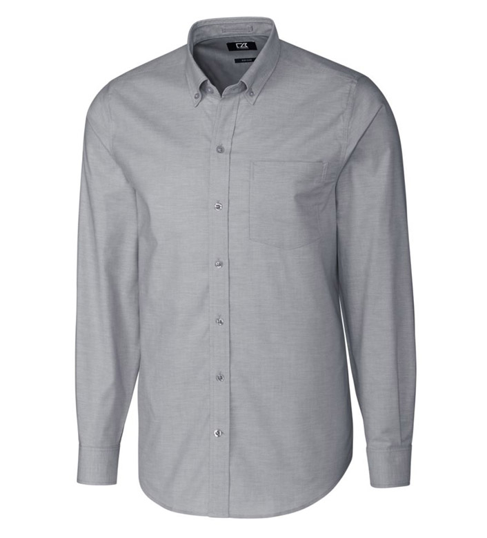 Cutter & Buck Epic Easy Care Stretch Oxford Long Sleeve Sport Shirt