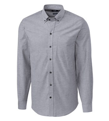 Tailored Fit Epic Stretch Oxford Long Sleeve Sport Shirt