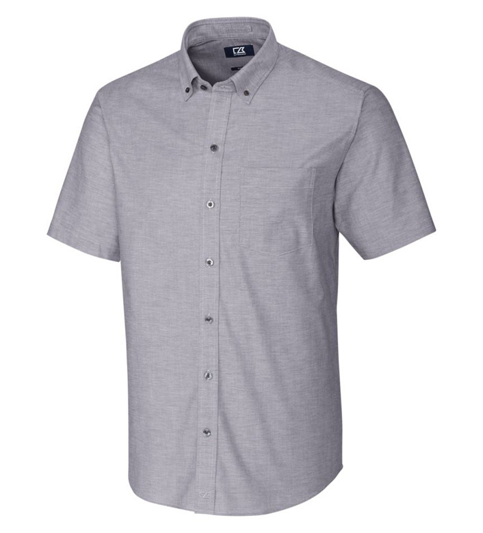 Cutter & Buck Epic Easy Care Stretch Oxford Short Sleeve Sport Shirt