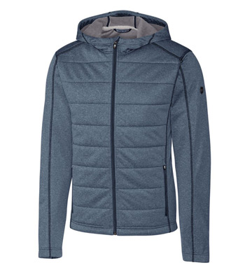 Altitude Quilted Hooded Jacket