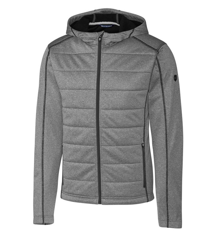 Cutter & Buck Altitude Quilted Hooded Jacket