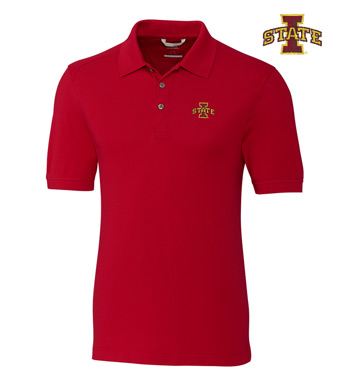 Iowa State University Cotton+ Advantage Short Sleeve Polo