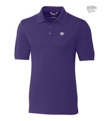 Kansas State University Cotton+ Advantage Short Sleeve Polo