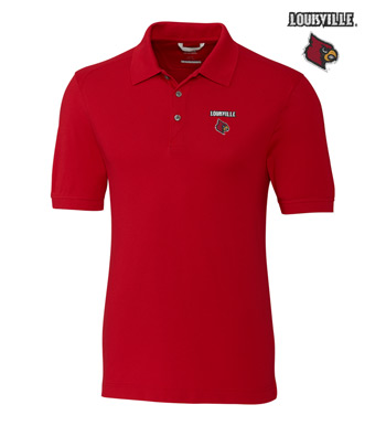 University of Louisville Cotton+ Advantage Short Sleeve Polo