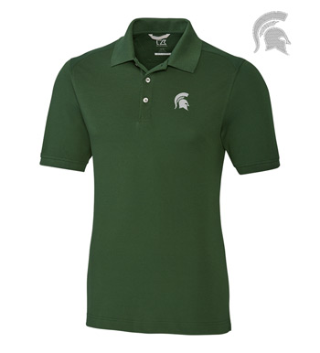 Michigan State University Cotton+ Advantage Short Sleeve Polo