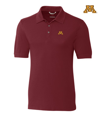 University of Minnesota Cotton+ Advantage Short Sleeve Polo