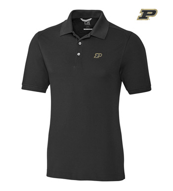Purdue University Cotton+ Advantage Short Sleeve Polo
