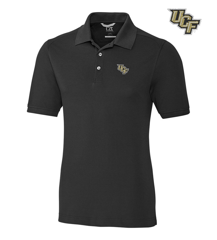 Cutter & Buck University of Central Florida Cotton+ Advantage Short Sleeve Polo