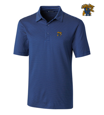 University of Kentucky Stripe Short Sleeve Polo