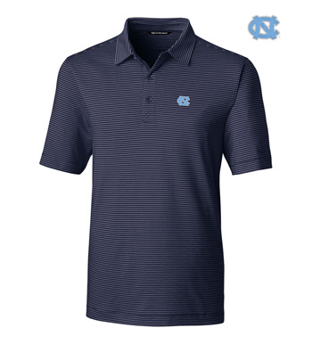 University of North Carolina Stripe Short Sleeve Polo