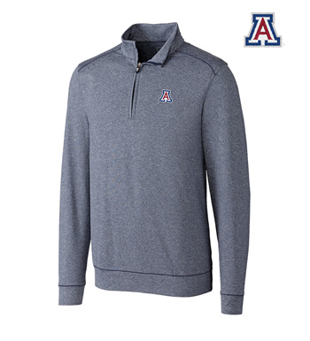 University of Arizona DryTec Stretch Jersey Half-Zip Pullover