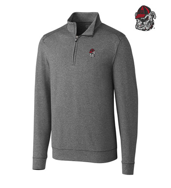 University of Georgia DryTec Stretch Jersey Half-Zip Pullover