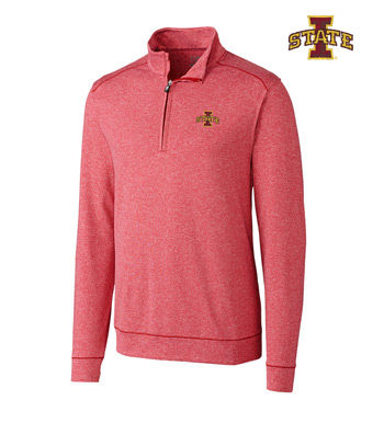 Iowa State University DryTec Stretch Jersey Half-Zip Pullover