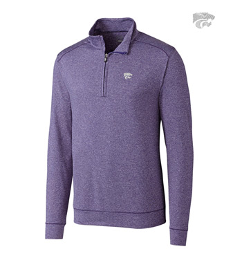 Kansas State University DryTec Stretch Jersey Half-Zip Pullover