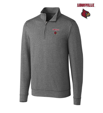 University of Louisville DryTec Stretch Jersey Half-Zip Pullover