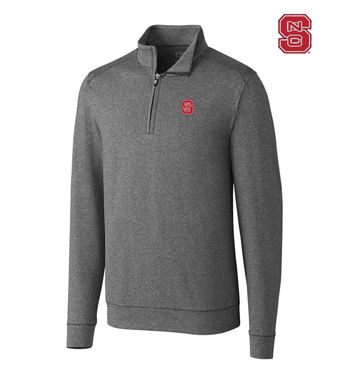 North Carolina State University DryTec Stretch Jersey Half-Zip Pullover