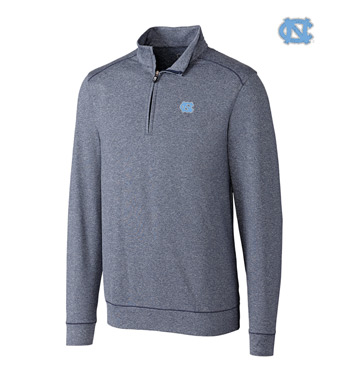 University of North Carolina DryTec Stretch Jersey Half-Zip Pullover