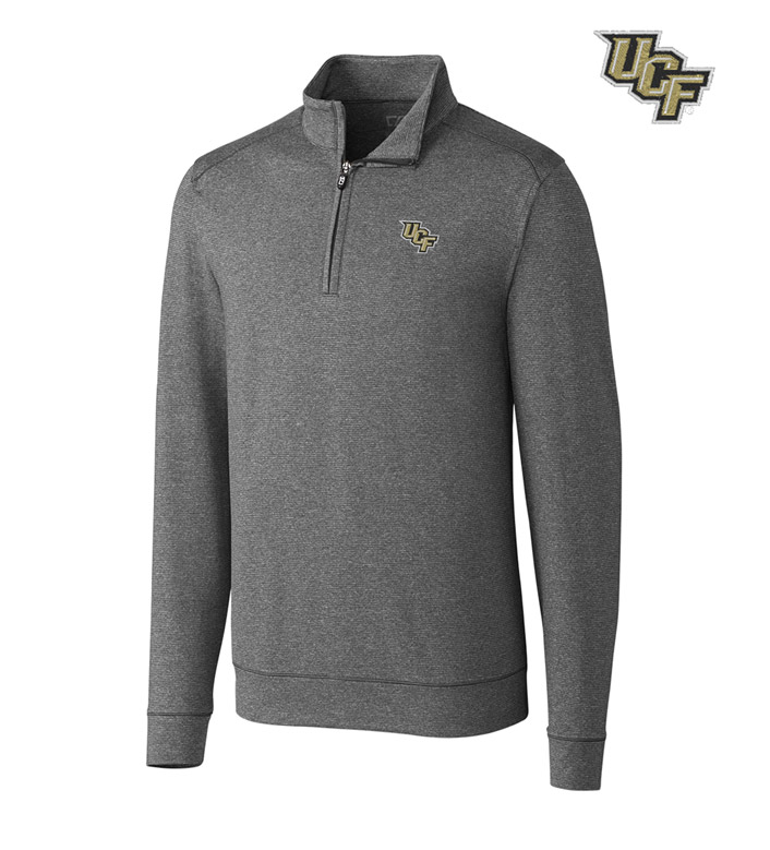 Cutter & Buck University of Central Florida DryTec Stretch Jersey Half-Zip Pullover