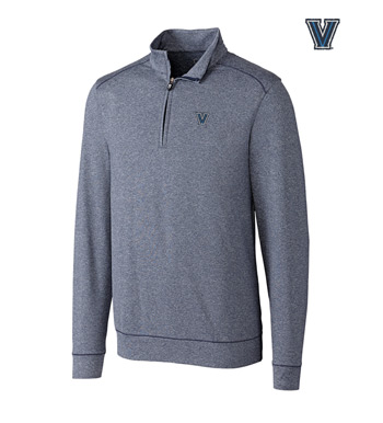 Villanova University DryTec Stretch Jersey Half-Zip Pullover