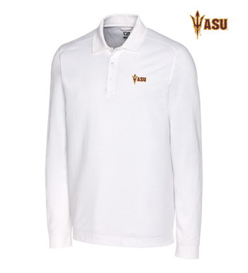 Arizona State University Cotton+ Advantage Long Sleeve Polo