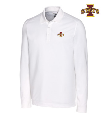 Iowa State University Cotton+ Advantage Long Sleeve Polo