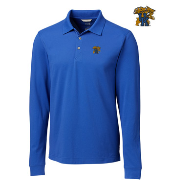 University of Kentucky Cotton+ Advantage Long Sleeve Polo