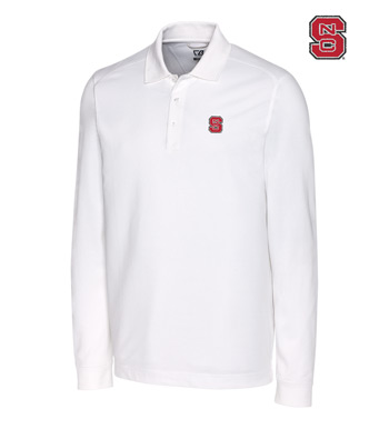 North Carolina State University Cotton+ Advantage Long Sleeve Polo