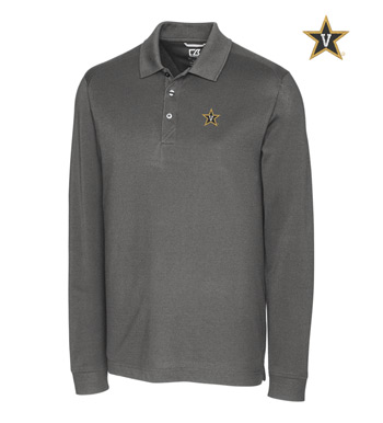 Vanderbilt University Cotton+ Advantage Long Sleeve Polo