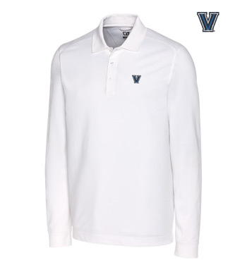 Villanova University Cotton+ Advantage Long Sleeve Polo