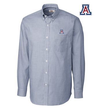 University of Arizona Tattersall Long Sleeve Sport Shirt