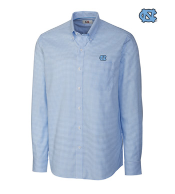 University of North Carolina Tattersall Long Sleeve Sport Shirt
