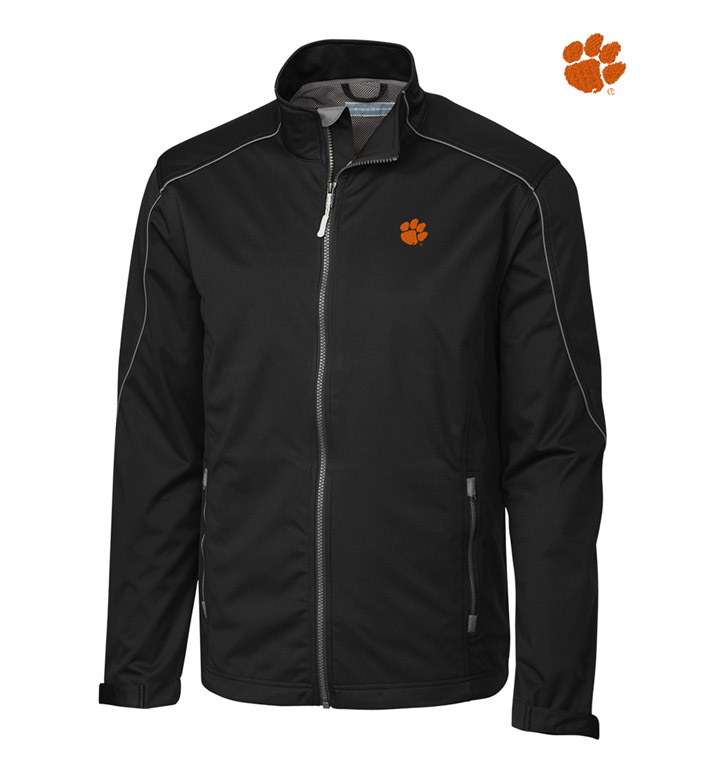 Cutter & Buck Clemson University WeatherTec Softshell Jacket