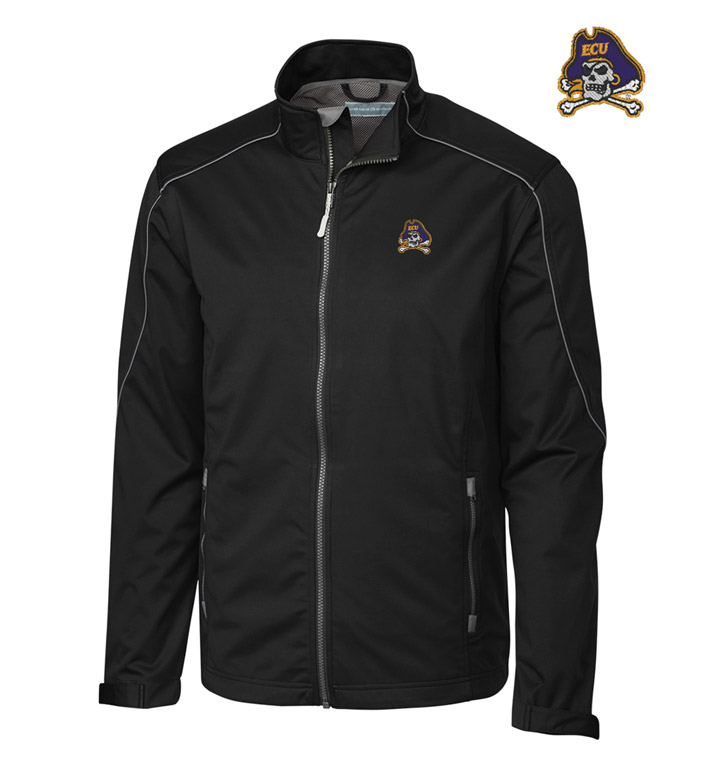 Cutter & Buck East Carolina University WeatherTec Softshell Jacket