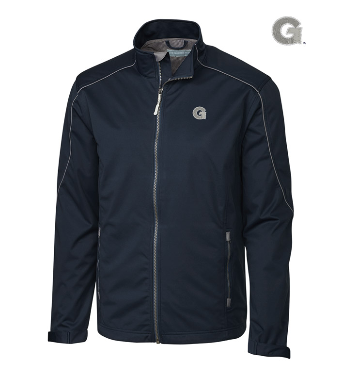 Cutter & Buck Georgetown University WeatherTec Softshell Jacket