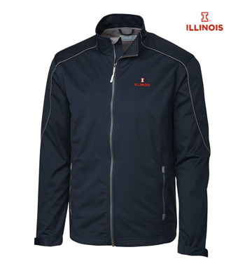 University of Illinois WeatherTec Softshell Jacket