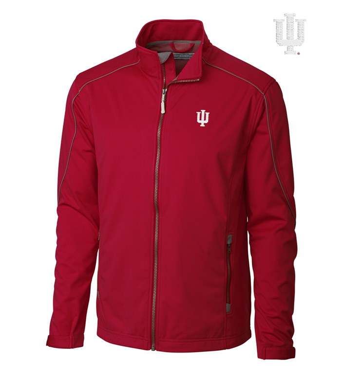 Cutter & Buck Indiana University WeatherTec Softshell Jacket