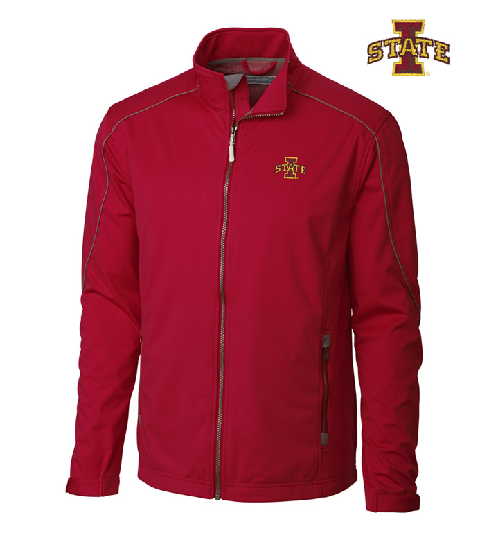 Cutter & Buck Iowa State University WeatherTec Softshell Jacket