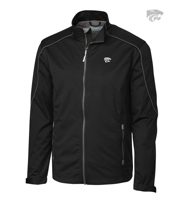 Cutter & Buck Kansas State University WeatherTec Softshell Jacket